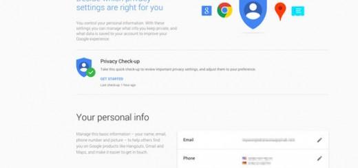Google's new Privacy Hub.