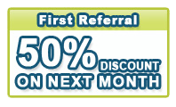First Referral Coupons